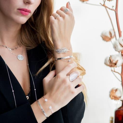 bijoux collier diamant collier aimee private collection bijoux pas cher plaqué or argent mode femme boucles d'oreilles accessoire bracelet