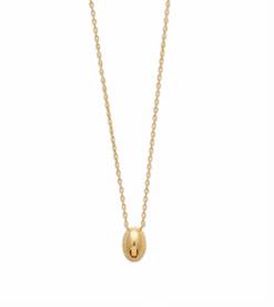 Collier Pia plaqué or 18K 3 microns avec médaillon Aimée Private Collection tendance influenceuse bijoux fantaisie mode