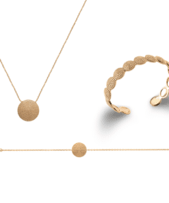 Jonc Fuji en plaqué or 18K 3 microns Aimée Private Collection bracelet femme influenceuse bijoux fantaisie