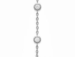 Bague Bracelet Victoria argent 925 rhodié diamant zirconium Aimée Private Collection tendance influenceuse bijoux fantaisie femme