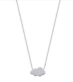 Collier Cloud argent 925 rhodié nuage Aimée Private Collection tendance influenceuse bijoux fantaisie mode