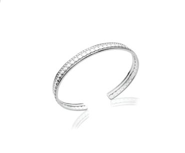 Jonc Cliff en argent 925 rhodié Aimée private collection bijoux fantaisie tendance mode influenceuse