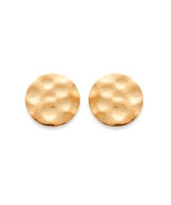 Boucles d'oreilles Diane plaqué or 18K 3 microns martelé Aimée Private Collection nouveau tendance influenceuse