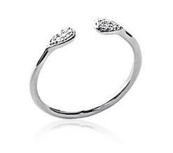 Bague Ange en argent 925 rhodié Aimée Private Collection bijoux tendance