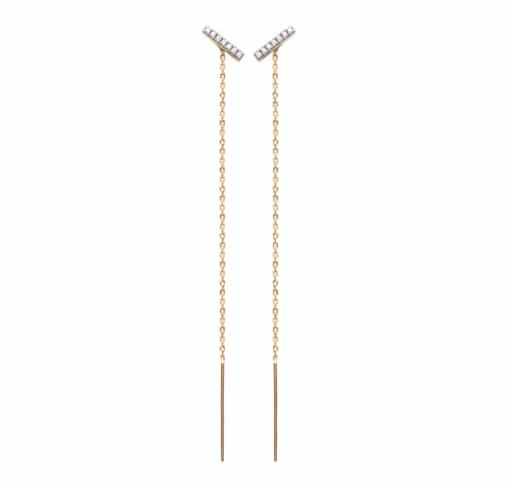 hollie boucles d'oreilles aimee private collection bijoux plaqué or argent mode femme cadeau