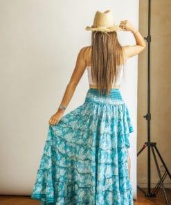 Aimée Private Collection jupes aimée été asymétrique soie